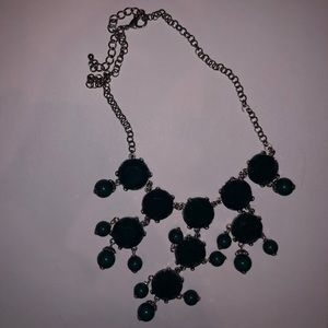 Jewelry: Dark Teal Statement Necklace